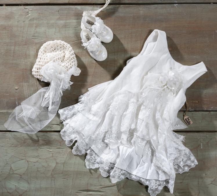 #vintage #tule #lace #girlchristening