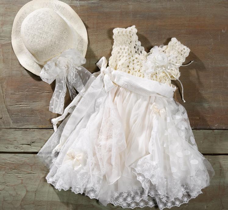 #christening #babygirl #beige Ένα γλυκύτατο  βαφτιστικό σύνολο για κορίτσι  σε εκρού και λευκό που περιλαμβάνει:      Φόρεμα (φόδρα από 100% βαμβάκι) με μπούστο πλεγμένο στο χέρι με βελονάκι, τούλινη φούστα με φιογκάκια και κομψό ζωνάκι     Ψάθινο καπέλο με τούλι  Μόνο για αληθινές κοκέτες!  Τιμή: 182 Ε  Διαθέσιμο σε όλα τα νούμερα κατόπιν παραγγελίας.  Εαν επιθυμείτε κάτι ακόμα πιο ιδιαίτερο επικοινωνήστε μαζί μας και θα χαρούμε να το δημιουργήσουμε αποκλειστικά για εσάς.