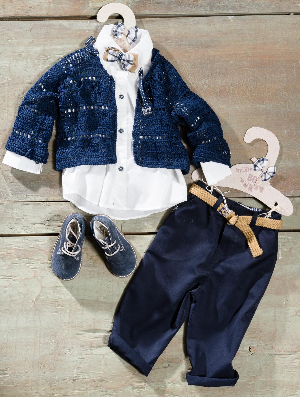 #deepblue #littlesir #greekchristening Ένα βαθύ μπλε βαφτιστικό σετ για αγόρι με πρώτοτυπη ζακέτα που περιλαμβάνει: Πουκάμισο λευκό Παντελόνι μπλε Καρό-μπεζ παπιγιόν Μοναδικό πλεκτό ζακετάκι Ζώνη Μποτάκια Για τους λάτρεις του μοντέρνου κλασσικού ενδύματος! Διαθέσιμο σε όλα τα νούμερα κατόπιν παραγγελίας. Τιμή: 195 Ε +60 Ε μποτάκια Εαν επιθυμείτε κάτι ακόμα πιο ιδιαίτερο επικοινωνήστε μαζί μας και θα χαρούμε να το δημιουργήσουμε αποκλειστικά για εσάς.
