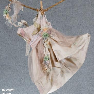βαφτιστικά κορίτσι ροζ πεταλούδα λουλουδάτο